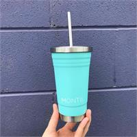 insulated smoothie cup teal