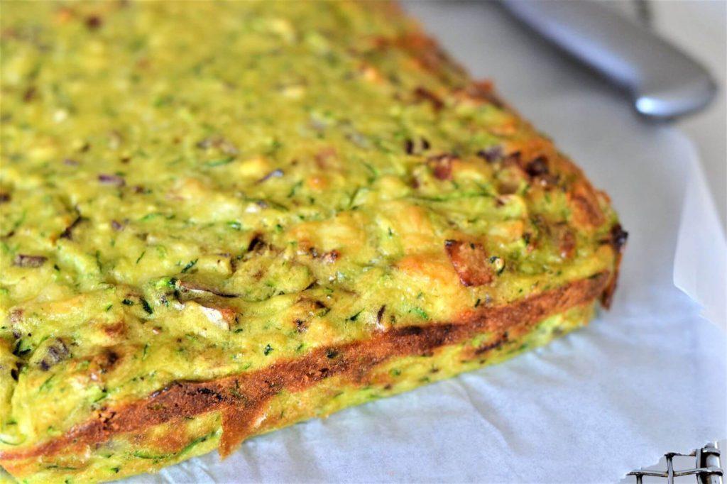 zucchini-slice-on-paper