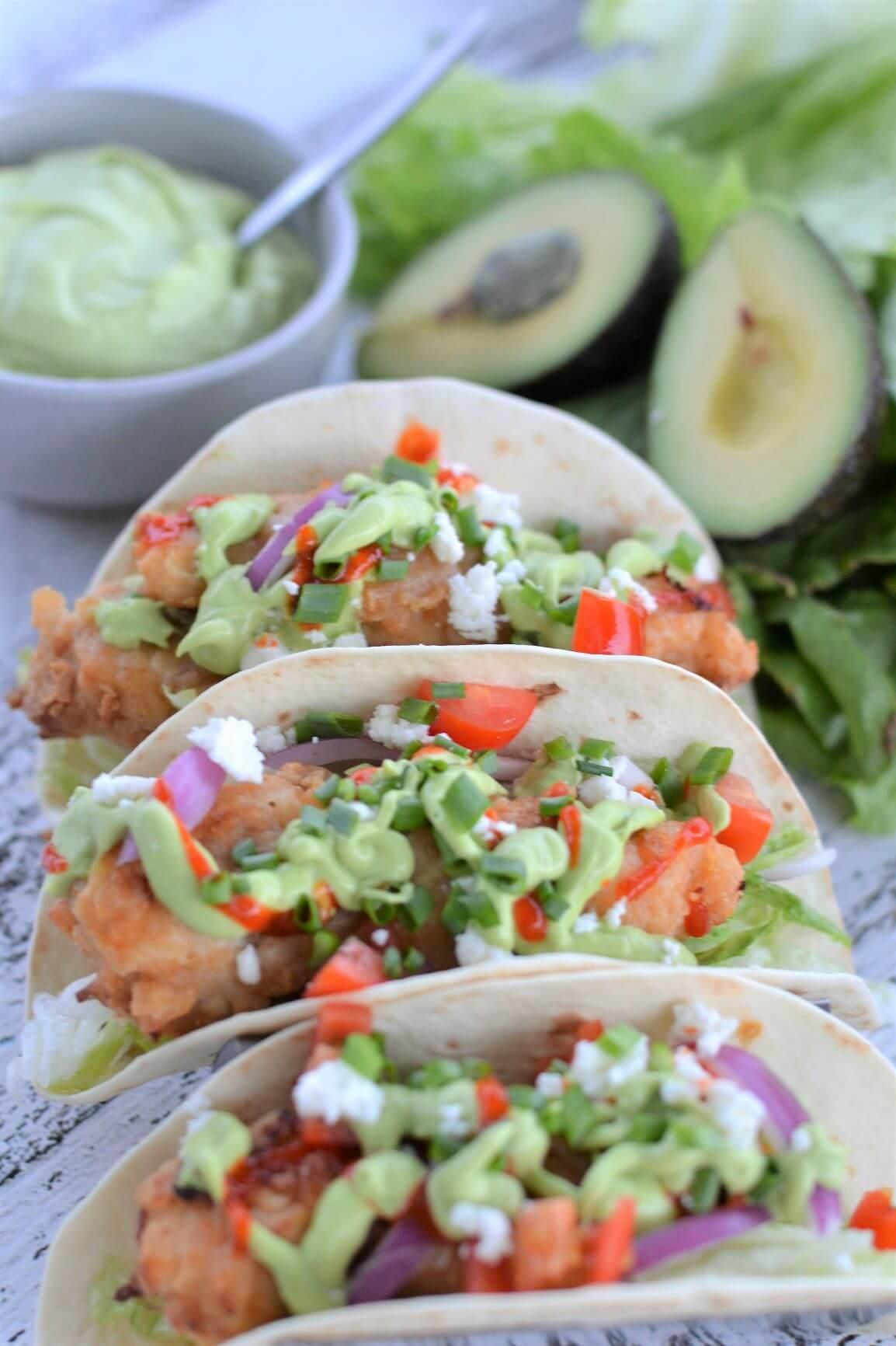 crispy-chicken-tacos-with-avocado