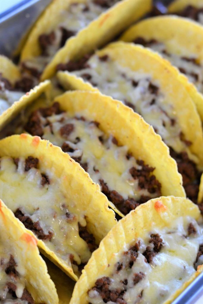 baked-tacos-in-tray-with-melted-cheese