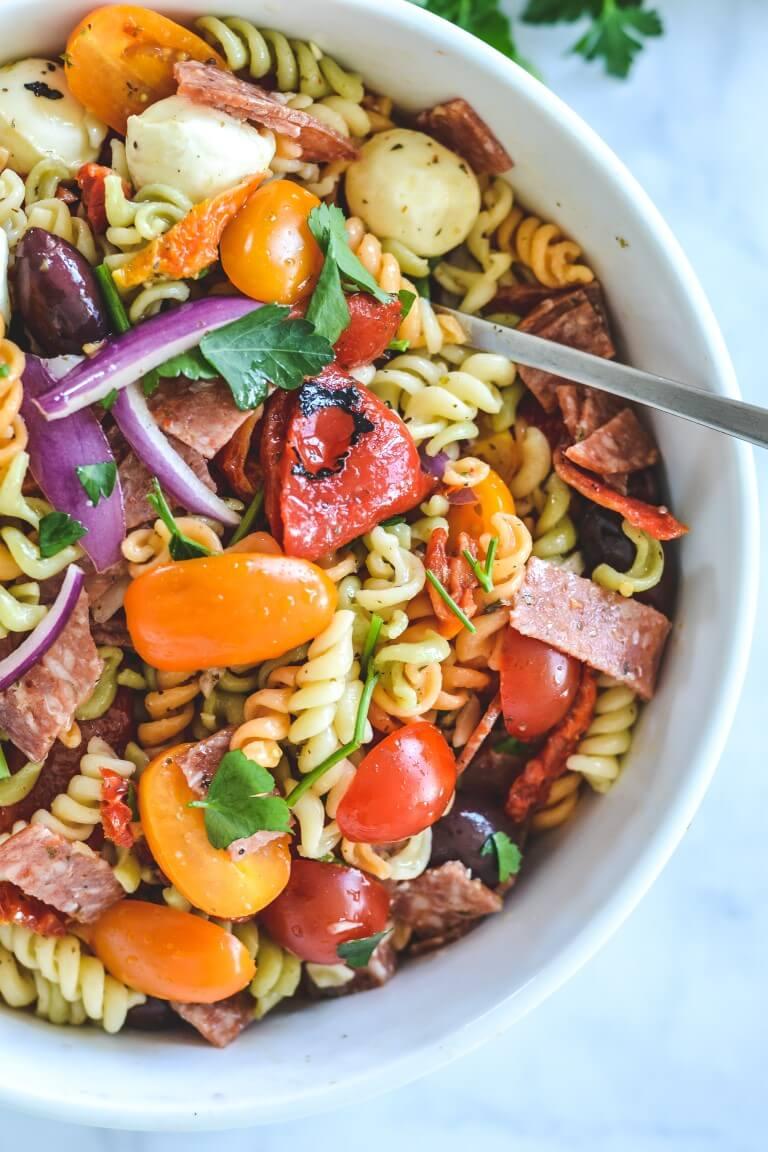salami-pasta-salad