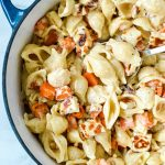 sweet-potato-and-pasta-in-pot