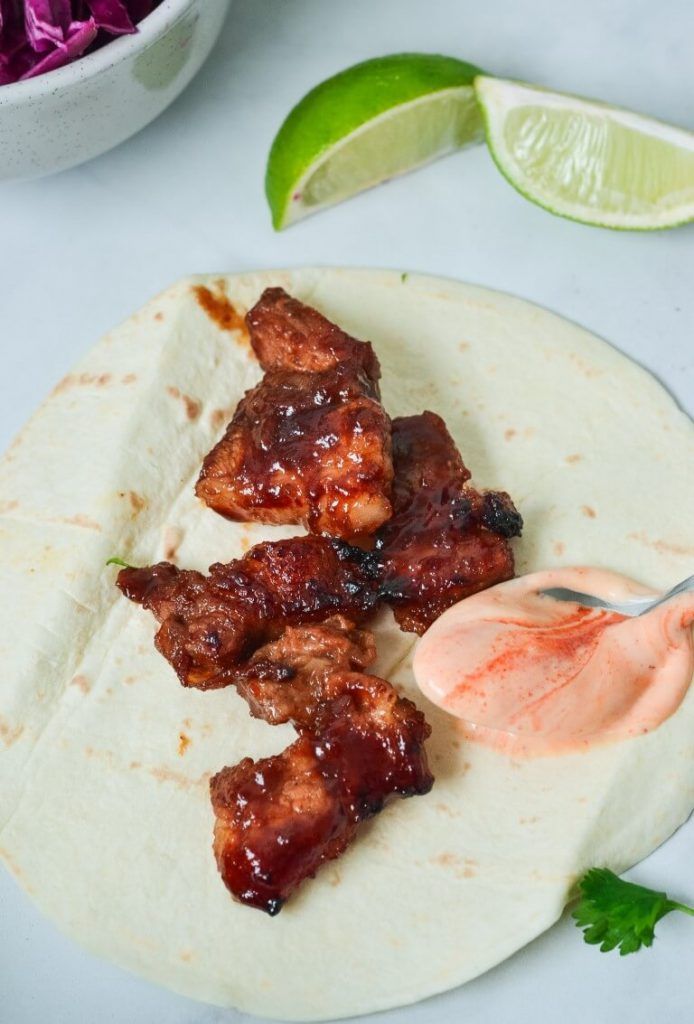 char-siu-pork-on-flour-tortilla