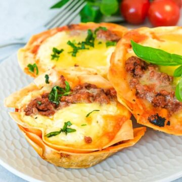 individual-lasagne-cups-on-white-plate