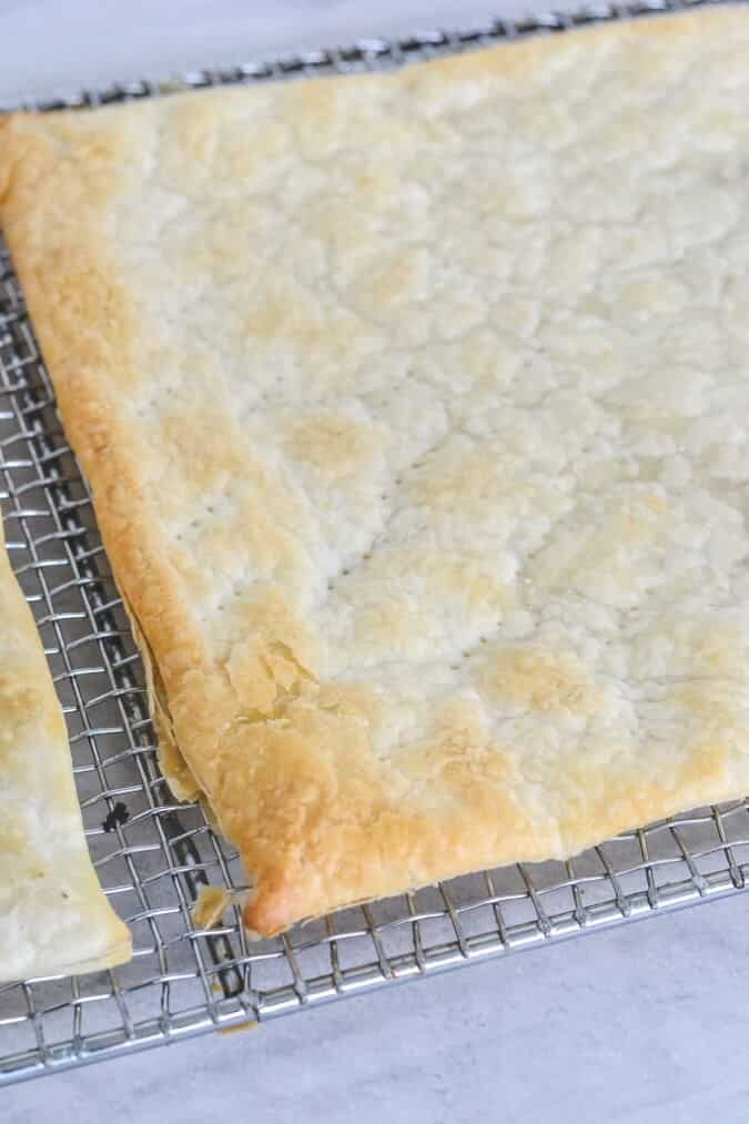 cooked-puff-pastry-on-rack