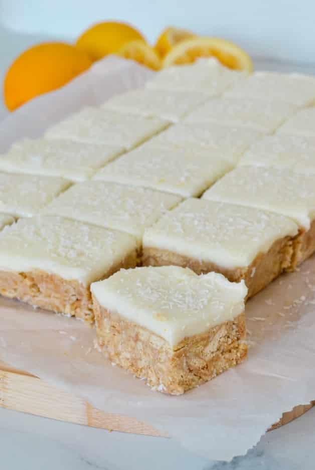 slab-of-lemon-slice-on-white-paper