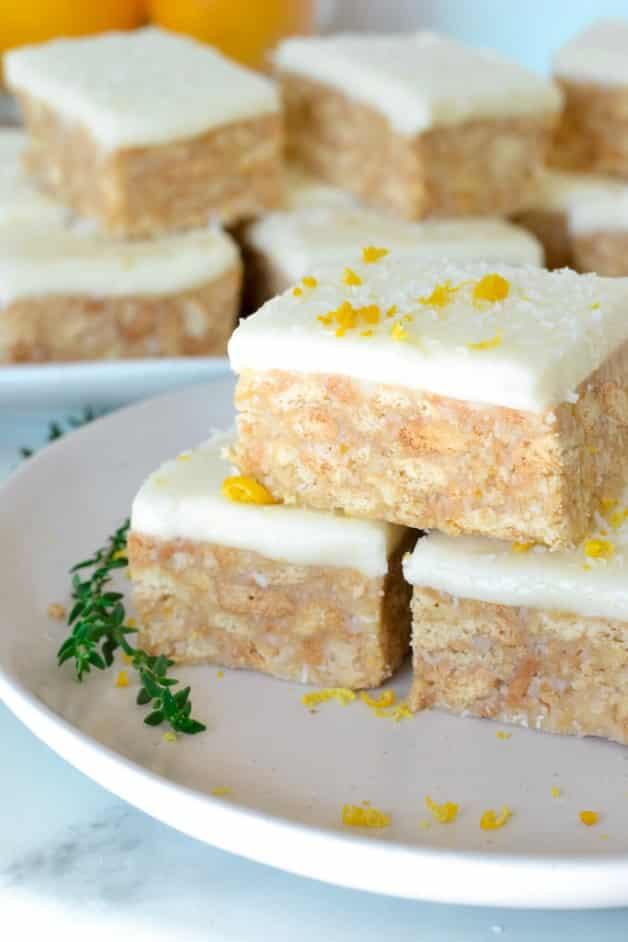 lemon-slice-stacked-on-white-plate