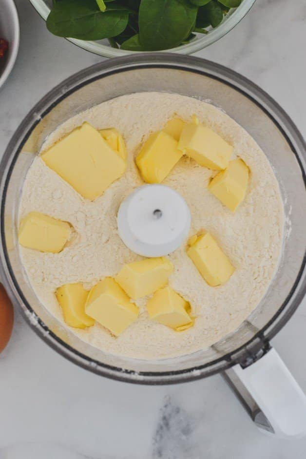 butter-and-flour-in-food-processor