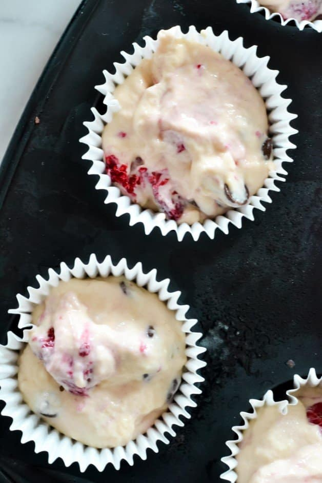 cupcake-mixture-in-baking-tray