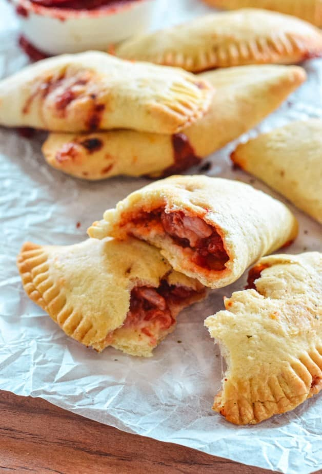 halved-pizza-rolls-on-white-paper